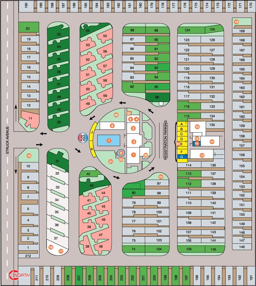 2020 Park Map